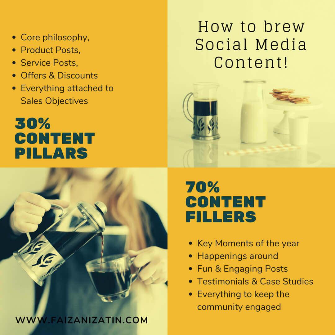 social media content pillars
